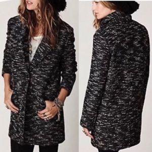 Free People | Boyfriend Tweed Coat